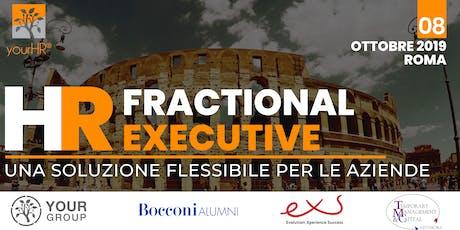 HR Fractional Executive: una soluzione flessibile per le aziende biglietti