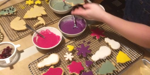 Holiday Cookies Baking Workshop      Kids 8-17 yrs