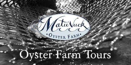 Matunuck Oyster Farm Sunset Tour tickets