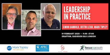 Leadership in Practice tickets