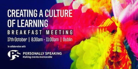 Creating a Culture of Learning: Breakfast Meeting tickets