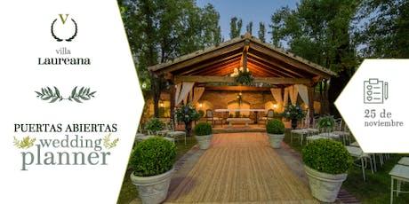 Puertas Abiertas para Wedding Planner en Villa Laureana entradas