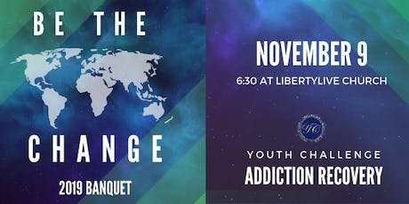 Be The Change Banquet tickets