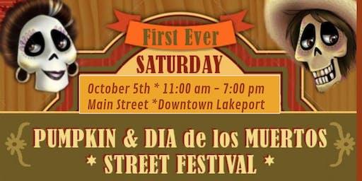 Pumpkin & Dia de Los Muertos Festival