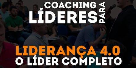 LIDERANÇA 4.0 - COACHING PARA LIDERES ingressos