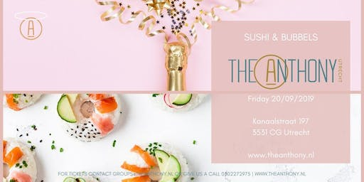 Sushi  & Bubbels @ the Anthony