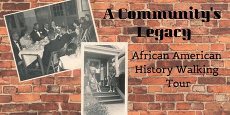 A Community's Legacy: African American History Walking Tour tickets