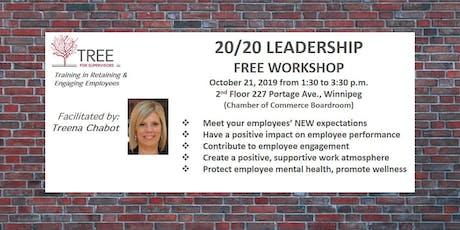 20/20 Leadership Free Workshop tickets