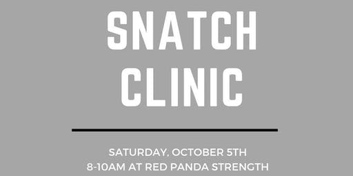 Red Panda Snatch Clinic