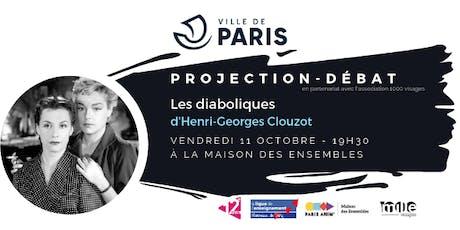 """Projection-débat :  """"Les diaboliques"""" billets"""