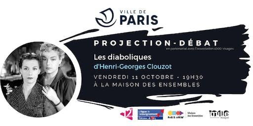 """Projection-débat :  """"Les diaboliques"""""""