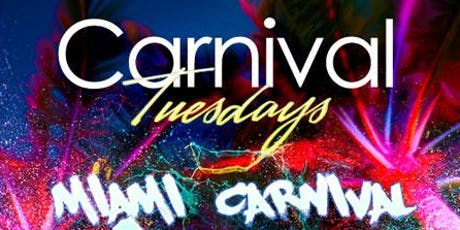 Carnival Tuesdays - Miami Carnival 1st Pump tickets