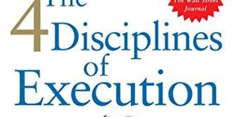 Book Club | 4 disciplines of execution achieving your wildly important goals tickets