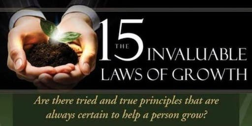 15 Invaluable Laws of Growth- a Morning Webinar