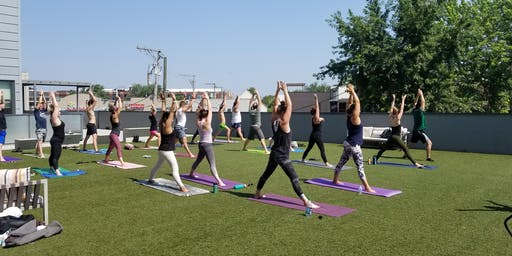 Rooftop Yoga & Brunch at Navigator Taproom