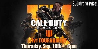 Black Ops 4 1v1 Tournament