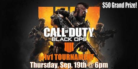 Black Ops 4 1v1 Tournament tickets