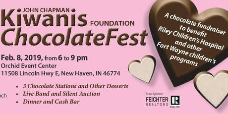 Fort Wayne ChocolateFest 2020 - Kiwanis Club of John Chapman Foundation tickets