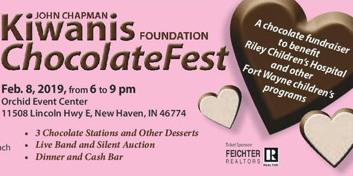 Fort Wayne ChocolateFest 2020 - Kiwanis Club of John Chapman Foundation