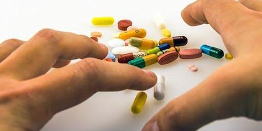 Hablemos sobre las drogas: Opioides, Benzodiacepinas y Estimulantes