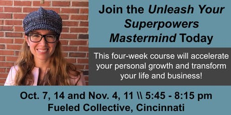 Unleash your SUPERPOWERS (a four-session experience) tickets
