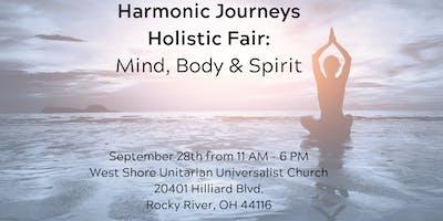 Harmonic Journeys Holistic Fair: Mind, Body & Spirit