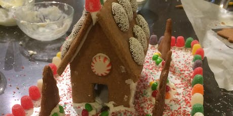 Gingerbread House Build Baking Workshop      Kids 8-17 yrs tickets
