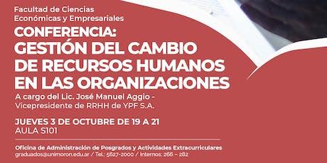 Gestión del cambio de recursos humanos en las organizaciones entradas