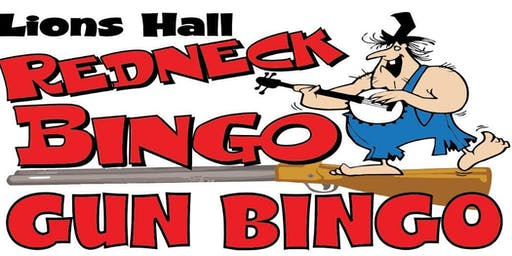 Lions Hall Red Neck BINGO Oct. 26th