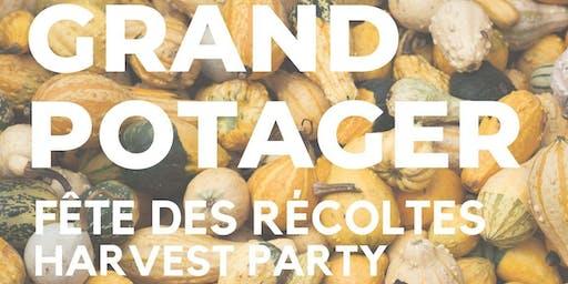Fête des Récoltes 2019 Harvest Party