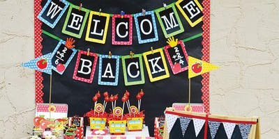 WELCOME BACK PARTY - IN SCHOOL