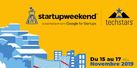 Techstars Startup Weekend Angoulême 11/19 Edition SMART CITY billets