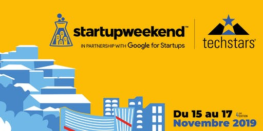 Techstars Startup Weekend Angoulême 11/19 Edition SMART CITY