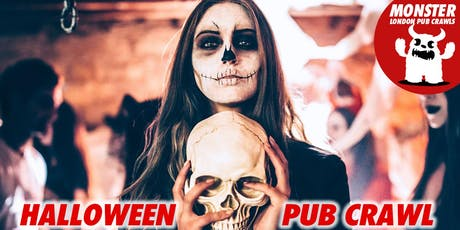 Halloween Pub Crawl on Sat 2 Nov tickets