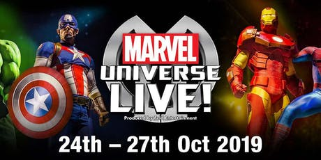 Marvel Universe Live! Event Parking tickets