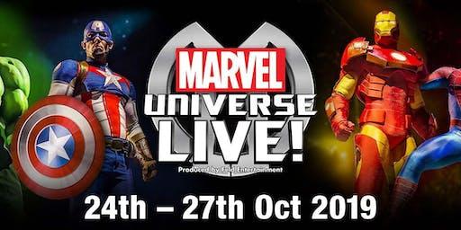 Marvel Universe Live! Event Parking