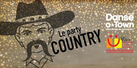 DANSE-O-TOWN / PARTY COUNTRY tickets