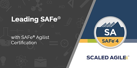 Leading SAFe® 5.0 med certificering tickets