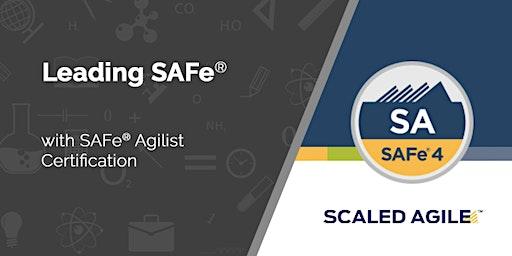 Leading SAFe® 5.0 med certificering