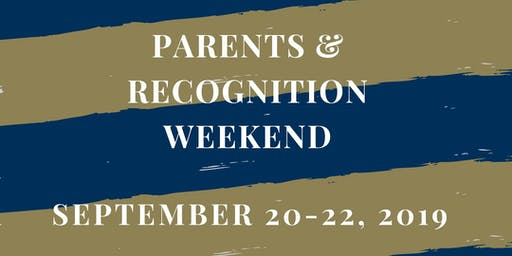 Staff RSVP- Parents & Recognition Weekend 2019