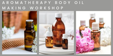 AROMATHERPHY BODY OIL MAKING WORKSHOP BY YOUGI tickets