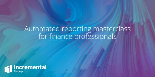 Automated reporting masterclass for finance professionals - Aberdeen
