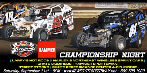 Hammer Electric Championship Night