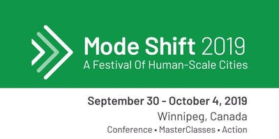Mode Shift Conference (Conference day ONLY, Thursday October 3rd)