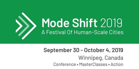 Mode Shift Conference (Conference ONLY, Thursday October 3rd)  tickets