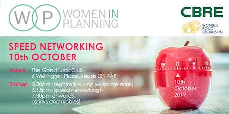 Women in Planning Yorkshire - Speed Networking tickets