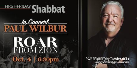 Paul Wilbur Concert tickets