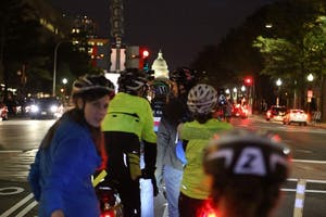 DC's Best Sights at Night Ride