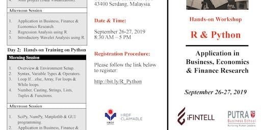 Workshop on R  & Python (Application in Business, Economics & Finance)
