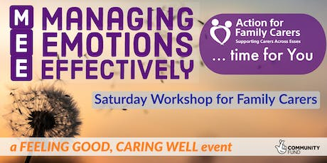 UTTLESFORD - MANAGING EMOTIONS EFFECTIVELY tickets